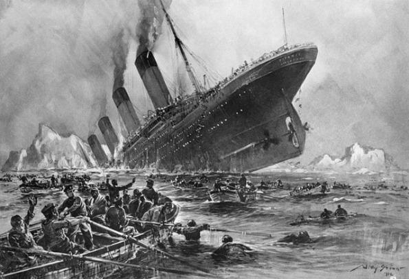 Гибель Титаника. Хроника катастрофы