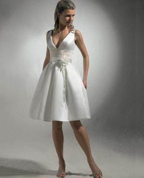 Wedding dresses Tea length Wedding Dress BW11770.