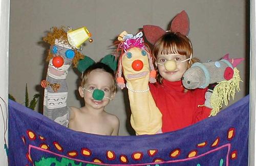 Как сделать кукольный театр в домашних условиях фото